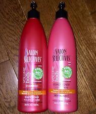 Salon Selectives, Shampoo & Conditioner Lg Bottles w/ Pumps Volume Body Set of 2