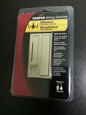 (20 pc) COOPER 600W Slide Dimmer Preset Switch Slider IVORY 6420V Decorator