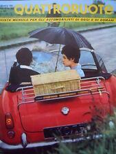 Quattroruote n°9 1961 - Test su strada Fiat 1800 e Fiat 2300  [Q79A]