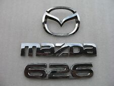 2002 MAZDA 626 REAR TRUNK LID CHROME EMBLEM LOGO BADGE SIGN SYMBOL OEM 00 01 02