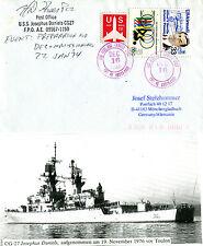 USS Josephus Daniels CG 27 CRUISER inseriti nella cache Naval COPRI E RIVISTA FOTOGRAFIA