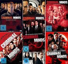 CRIMINAL MINDS 1-7 DIE KOMPLETTE DVD SEASON / STAFFEL 1 2 3 4 5 6 7 DEUTSCH
