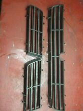 00 01 99 saab 9-5 front lower bumper grill vent set