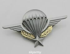 FRENCH FOREIGN LEGION BADGE PARATROOPER PARACHUTIST  WINGS BADGE-repro