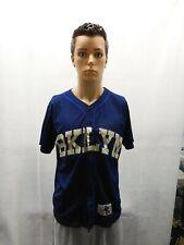 Brooklyn Cyclones BKYN 15 Blue Jersey Mens S SGA MiLB Mets New York