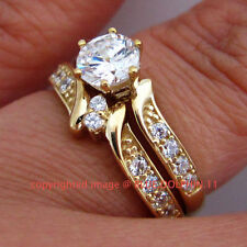 Cubic Zirconia Not Enhanced Fine Diamond Rings