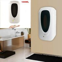 1000ML Automatic Smart Liquid Gel Soap Dispenser Touchless Infrared Wall Mounted