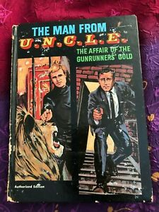 Rare THE MAN FROM UNCLE Affair of the Gunrunners' Gold VINTAGE HARDCOVER 1967