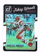 Ickey Woods 2016 Donruss, Press Proof, (Silver), Die-Cut, 47/75 !!