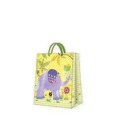 """HAPPY ELEPHANT"" - Paper Gift Present Bag - Medium - Kids Children Pattern"
