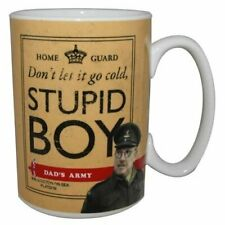 OFFICIAL DADS ARMY STUPID BOY CERAMIC COFFEE MUG CUP NEW IN GIFT BOX
