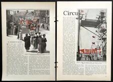 Circus Movie Clowns Al Copeland 1931 vintage Hollywood pictorial