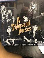 "A THOUSAND HORSES - LIVE FROM LONDON  - 12 "" VINYL RECORD New Sealed"