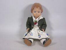 "Geschäftsaufl.:Schildkröt-Puppe""Bärbel""(ca.41cm)mit Blumenrock u. gr.Jacke 5G153"