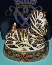 Royal Crown Derby - Zebra - Early Piece - LVIII - 1995 - Stopper & Box