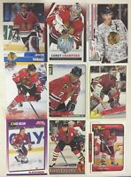 CHICAGO BLACKHAWKS 100 Different Card Team Lot BELFOUR TOWES KANE + 1990-2015