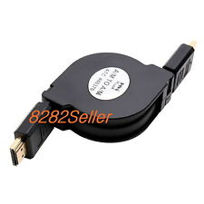 1.3M 4Ft Retractable HDMI 1.4 High Speed Ethernet Cable 2160P LED HDTV 3D Xbox