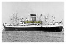 mc1737 - Blue Star Cargo Ship - Adelaide Star , built 1950 - photo 6x4
