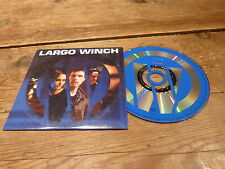 LARGO WINCH - MICHEL COLOMBIER - MIRWAIS - PERRY BLAKE !!CD PROMO NAIVE / DUPUIS
