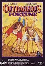 Outrageous Fortune * NEW DVD * Bette Midler Shelley Long (Region 4 Australia)