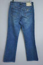 JAA453 Mujer Armani Jeans Azul Vaqueros Boot-Cut Talla W29 L32