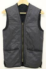 BARBOUR Women's Betty Quilted Full Zip Down Fleece Vest - Black - Size XS