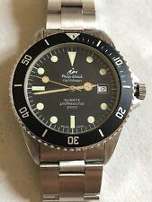 vintage divers PHILIP WATCH Caribbean Quartz NOS, Ref.2812, MRP case