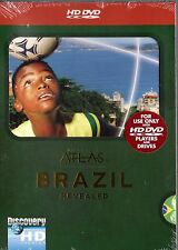 Discovery Atlas - Brazil Revealed (HD DVD, 2007) Narrated by Sela Ward  NEW