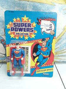 Vintage Super Powers Collection Superman 1984 Kenner MOC Action Figure Toy