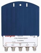 Labgear WBOS4F 4 Way Outdoor Splitter in Weatherproof Casing