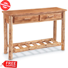 CASTLECREEK Pine Log Wood SOFA TABLE LODGE Living Room Home Furniture Rustic USA