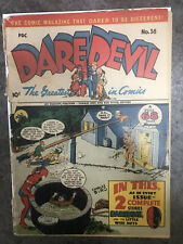 New ListingDaredevil Comics #38 Fair / Poor 1.0 1946 Orgin Retold!