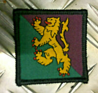 Genuine British Army 51 Scottish Brigade Rampant Lion TRF Patch/Badge NEW x 2