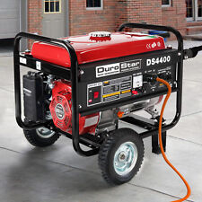 DuroStar 4400 Watt Quiet Portable Recoil Start Gas Powered Generator -RV DS4400