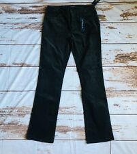 CHAPS by Ralph Lauren Women's Charcoal Corduroy Pants Slimming Fit Sz.8-NWT