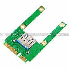 Mini PCI-E Express Card Slot to USB Interface Adapter Riser Card Expansion UK