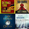 Dan Brown - Super Audio KIT 🎤🎵Origin + Da Vinci Code + Angels + MP3 + Audio