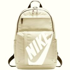 Nike Elemental Rucksack Backpack Unisex Sportswear Sport School Bag Gym Beige