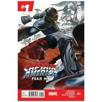 All-New Captain America: Fear Him #1 in NM minus condition. Marvel comics [*7b]