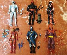 Marvel Legends Misc Lot (6) Action Figures; Xemnu BAF, Dormammu, Ultron