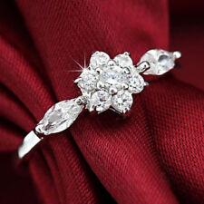 Unbranded Diamond Flowers & Plants Fashion Rings