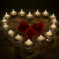 10Pcs Water Floating Candles Round Romantic Wedding Party Home Decoration