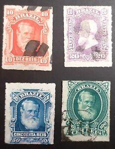 Brasilien 1870s Kaiser Pedro used