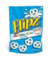 Flipz Birthday Cake Coated Pretzel, 5 Ounce -- 6 per case.