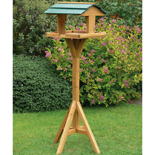 Kingfisher Traditional Wooden Wild Bird Nesting & Feeding Table Free Standing