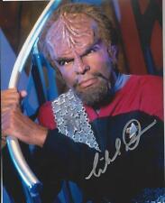 Michael Dorn - Star Trek DS9 signed photo