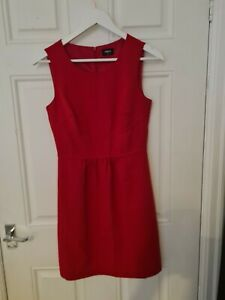 Woman's Red Oasis Summer Dress Size 8