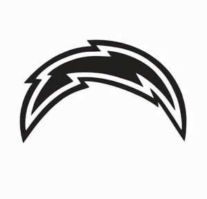 Los Angeles LA Chargers Football Vinyl Die Cut Car Decal Sticker FREE SHIPPING