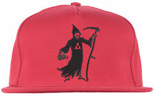 HUF x Black Scale Reaper Snapback Hat BLVCK SCVLE Red