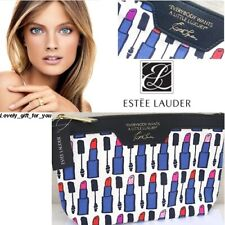 """NEW Estee Lauder Cosmetic Bag - """"Everybody Wants A Little Luxury"""" Travel Size"""